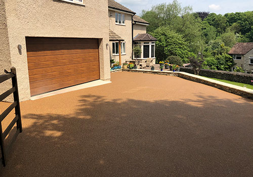 Driveway and parks resurfaced in Swindon